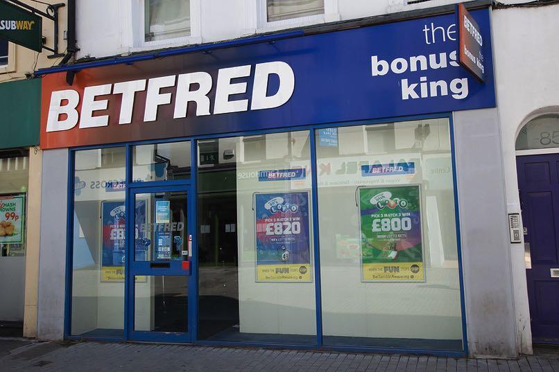Betfred shop in Cheltenham