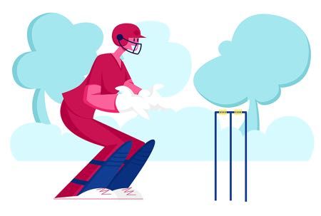 Cricket graphic