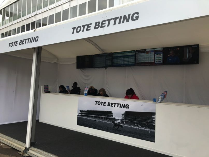 Tote Racecourse stand
