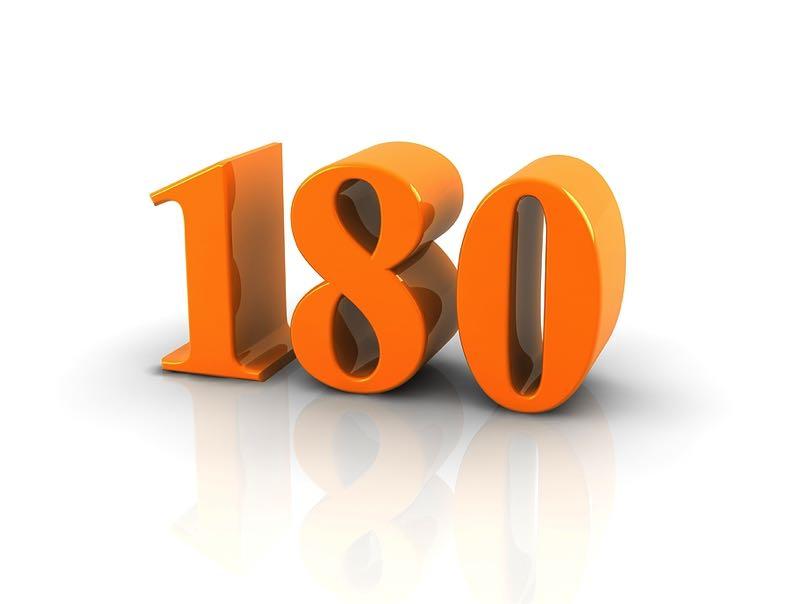 180 number