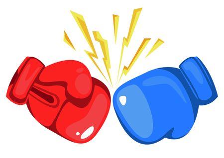 Boxing glove graphic