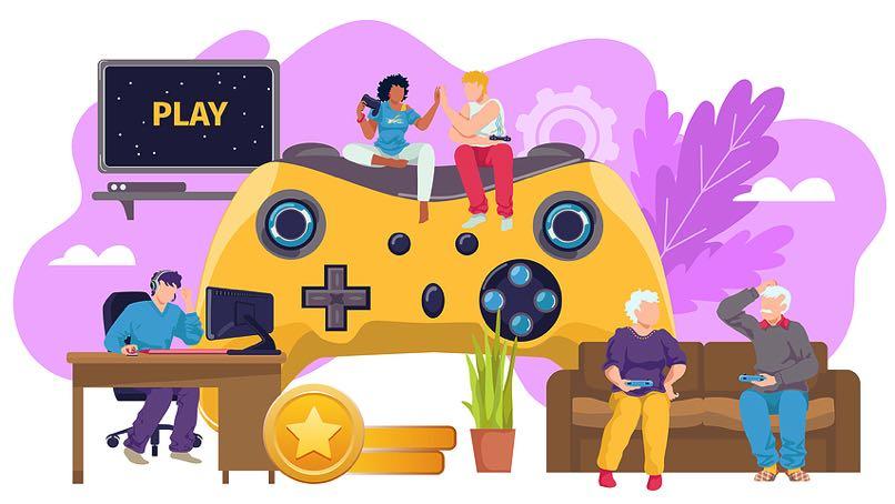 E gaming concept