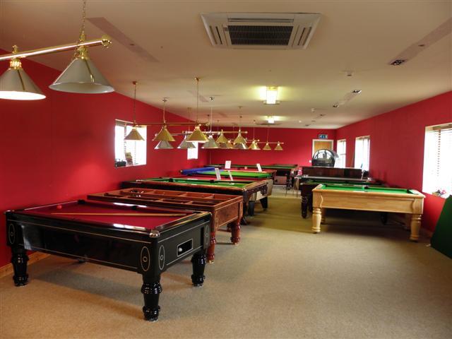 Snooker hall